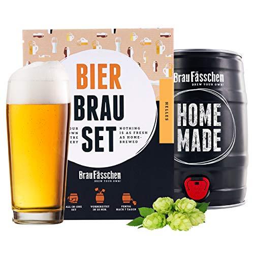 braufaesschen   Bierbrauset zum selber Brauen   Helles im 5L Fass...