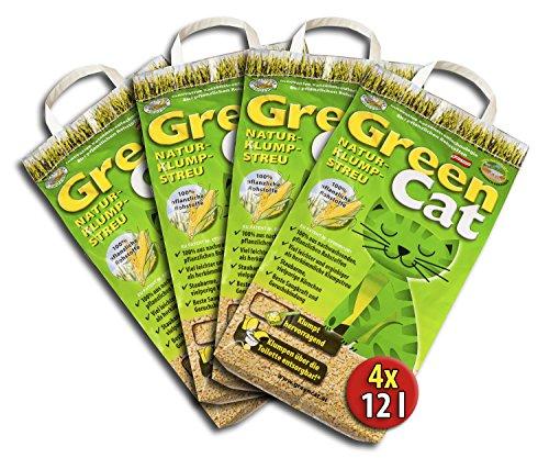 4x12 =48 Liter GREENCAT NATURSTREU ÖKO-PLUS GREEN CAT`S...