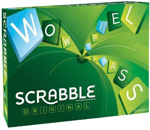 Mattel Games Y9598 - Scrabble Original Wörterspiel und...