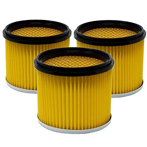 Trocken Lamellenfilter Filter geeignet für Nass-Trockensauger...
