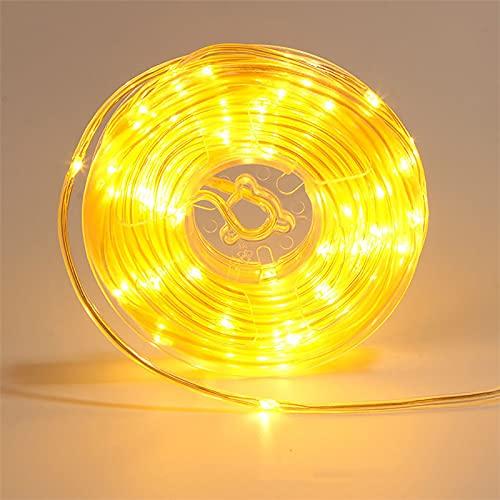 AWDX Solar LED Strip, 20m/30m/50m/100m, 4 Farbe RGB LED Streifen...