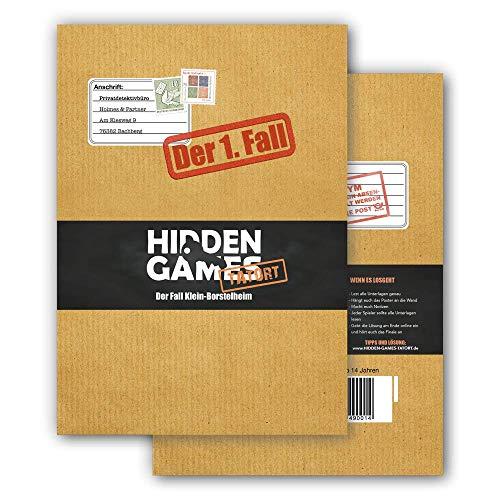 Hidden Games Tatort Krimispiel Fall 1, Escape Room Spiel