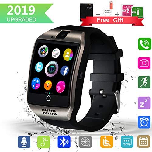 Bluetooth-Smartwatch mit Kamera, Touchscreen, wasserdichte...