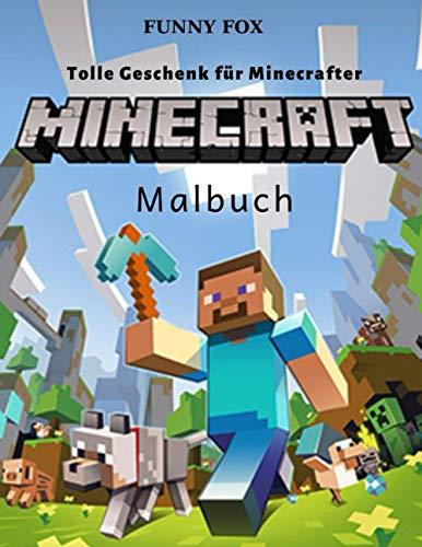 Minecraft Malbuch: Tolle Geschenk für Minecrafter