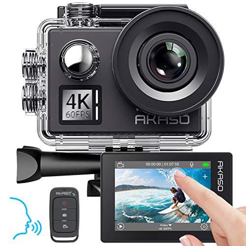 AKASO Action cam 4K/60fps /Action Kamera 20MP WiFi mit...