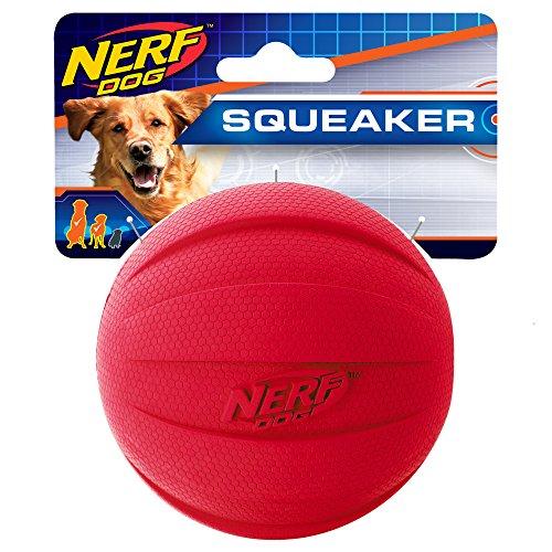 Nerf Dog Gummiball Hundespielzeug mit interaktivem Quietscher,...