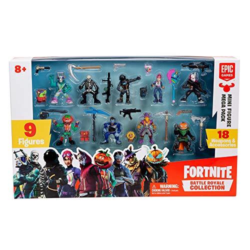 Fortnite 36516 Battle Royale Mini Figuren Mega Pack, Spielset Mit...