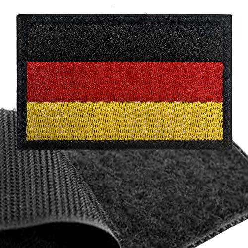 Patch Deutschland Flagge Klett - Deutsche Klettabzeichen, Flaggen...