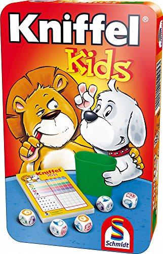Schmidt Spiele 51245 BMM Kniffel Kids, Bring Mich mit Spiel in...