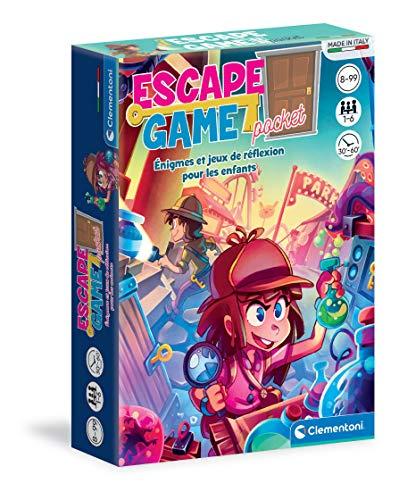 Clementoni 52542 Escape Game – Reisegröße – spielerisches...