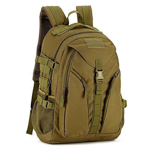 Huntvp® 40L Rucksack Taktisch Tagesrucksack Militär Daypack MOLLE Wanderrucksack Wasserdicht...