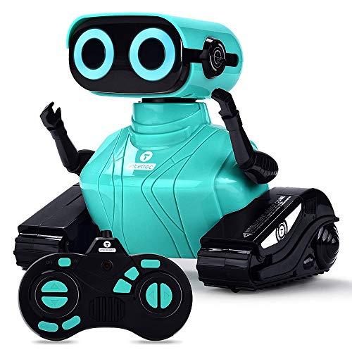 ALLCELE RC Roboter Kinder Spielzeug, Ferngesteuertes Auto Roboter...