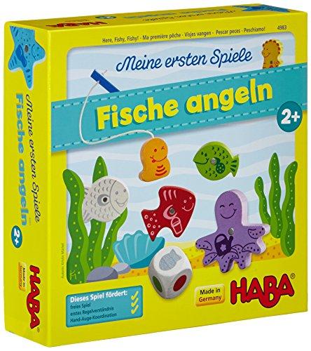 Haba 4983 - Meine ersten Spiele Fische angeln, spannendes...
