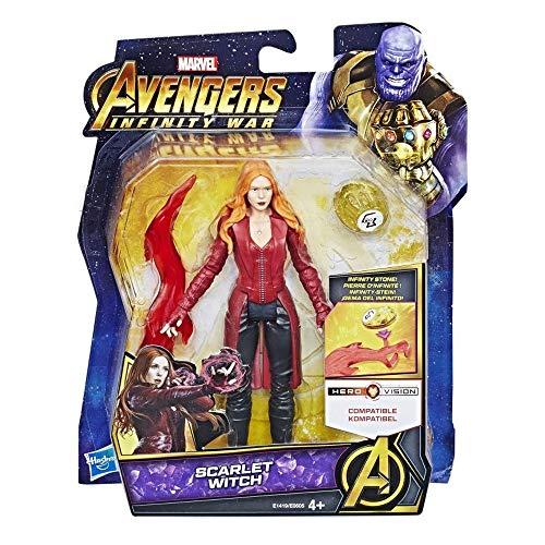 Hasbro Avengers Infinity War Scarlet Witch, Multicolor, E0605_E1419EU4