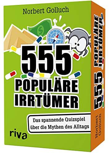 555 populäre Irrtümer – Das spannende Quizspiel rund um die...