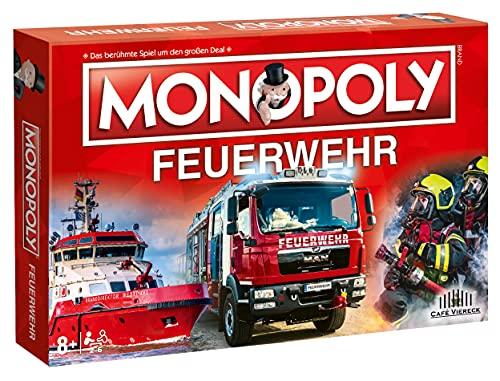 Winning Moves Monopoly Feuerwehr Edition 2021 Brettspiel...