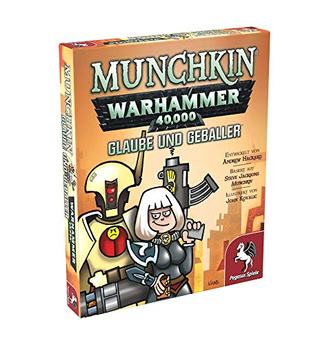 Pegasus Spiele 17016G - Munchkin Warhammer 40.000: Glaube und...
