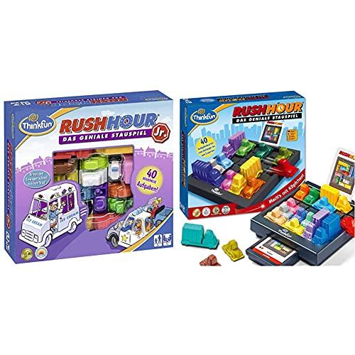 ThinkFun 76303 - Rush Hour® Junior - Das bekannte Logikspiel...