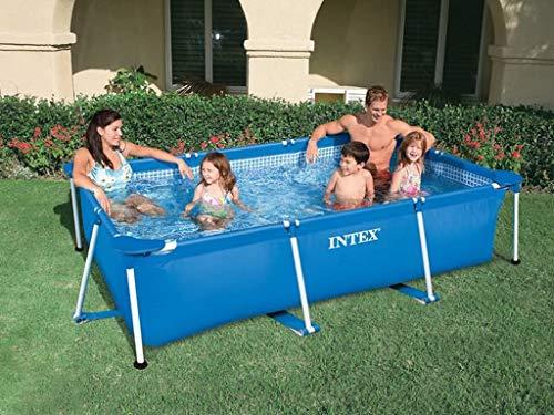 Intex Pool, Metall, Rahmen, 2,6 x 1,6 x 0,65 m