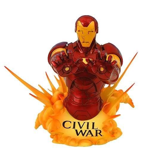 Diamond Select Toys–Figur–Iron Man–Büste...