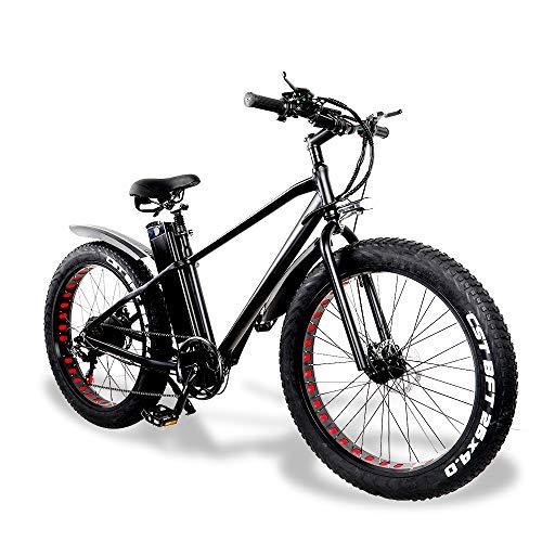 E-Bike Herren Elektrofahrrad Mountainbike Fatbike 26 Zoll 750W...