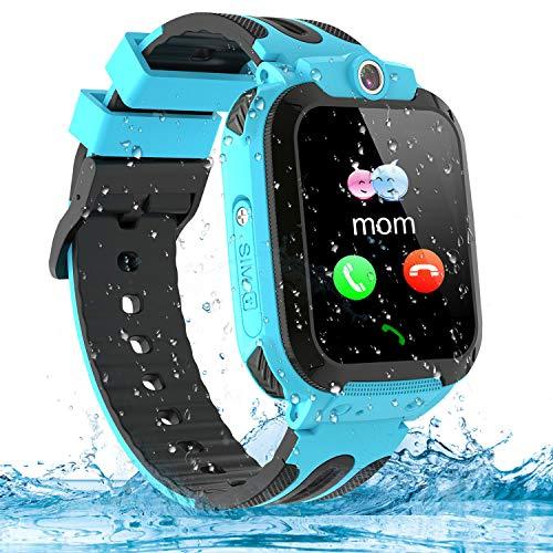 Kinder Smartwatch Telefon Uhr, Vannico Wasserdicht Kids Smart Watch für Kinder mit...