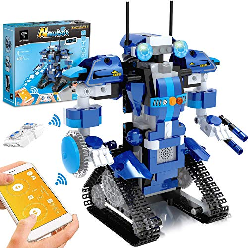 GPTOYS Roboter Kinder Bausteine Spielzeug Programmierbar...