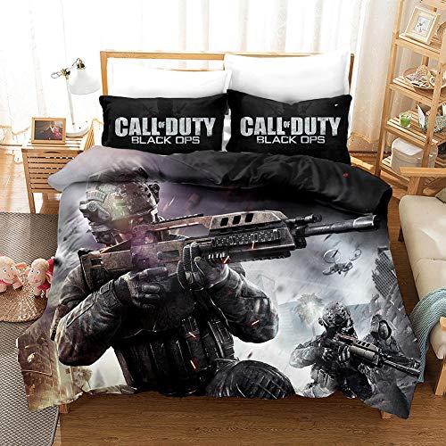 chenyike Bettwäsche 135x200 cm Call of Duty Mikrofaser...