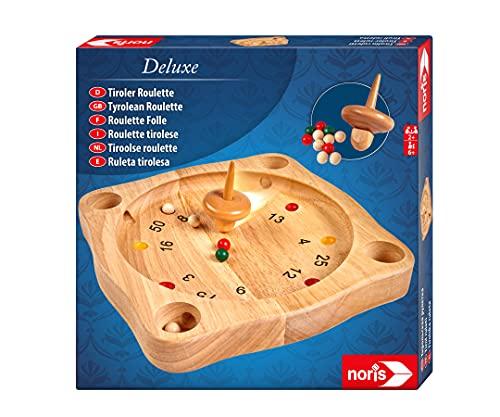 Noris 606101930 Deluxe Tiroler Roulette, Der Holzspiel Klassiker...