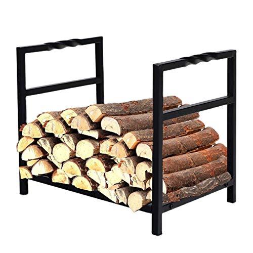 ERLAN Kaminholzregal Holzwiegen 40cm Brennholzregale Log Rack,...