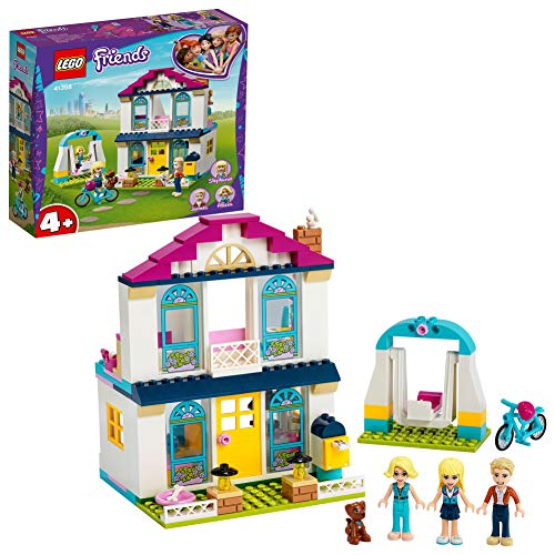 LEGO 41398 Friends 4+ Stephanies Familienhaus, Puppenhaus mit...
