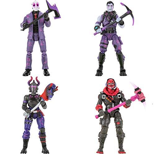 FORTNITE FNT0649 Dark Legends 4 Figuren Pack