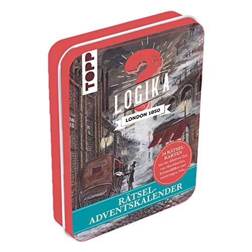 Rätsel-Adventskalender - Logika London 1850: 24 Rätselkarten...