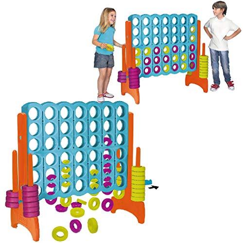 FEBER Famosa 800009460 4 in Line - Kinderaktivitätszentrum 4 in...