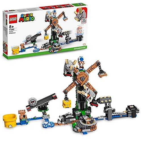LEGO 71390 Super Mario Reznors Absturz – Erweiterungsset,...