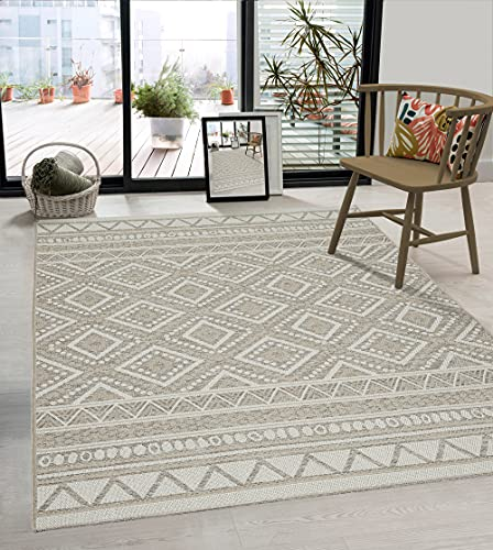 the carpet Calgary - robuster Teppich, Flachgewebe, modernes...