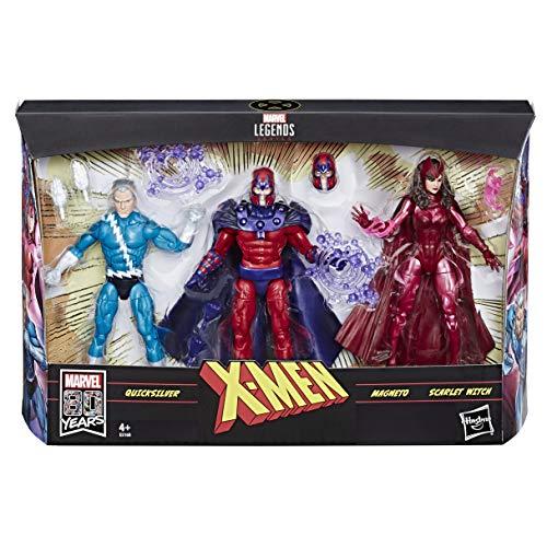 Exklusive 15 cm große Marvel Legends Serie Family Matters 3er-Pack mit Magneto, Quicksilver...