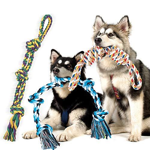 FONPOO Hundespielzeug Unzerstörbar für Große Hunde Mittlerer...
