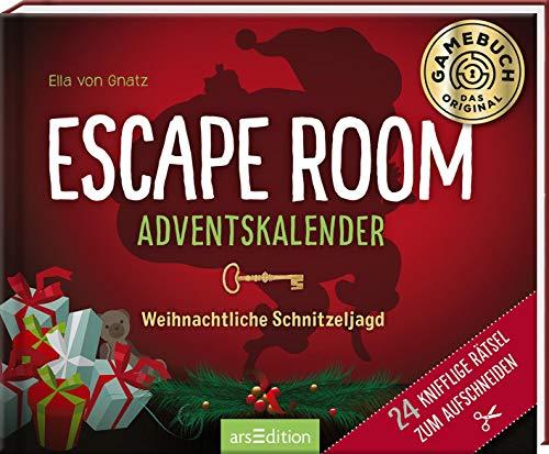 Escape Room Adventskalender. Weihnachtliche Schnitzeljagd. 24...