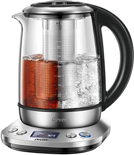 Wasserkocher DECEN Wasserkocher Glas   Temperatureinstellung...