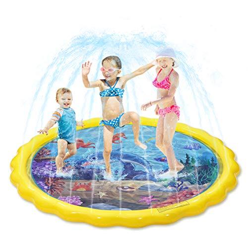 Splash Sprinkler Pad für Kinder, Kiddie Baby Pool, 67 'Outdoor...