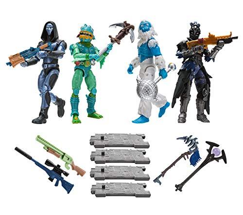 FORTNITE FNT0109 Squad Modus 4-er Figuren Set Serie 2, mehrere...