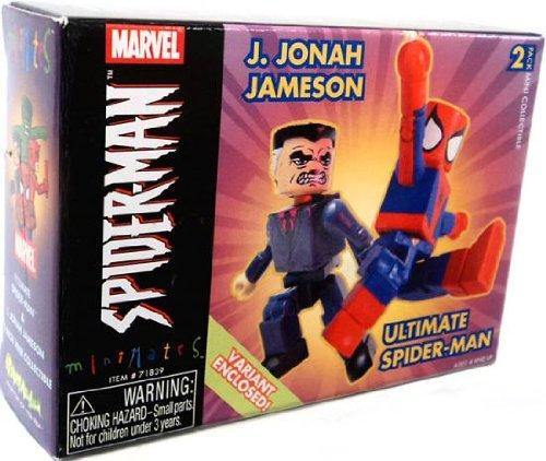Marvel Minimates J. Jonah Jameson & Ultimate Spider-Man Variant 2...