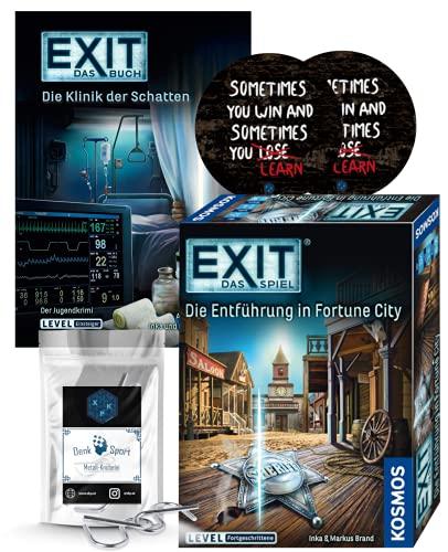EXIT Das Spiel - Set: Die Entführung in Fortune City + Die...