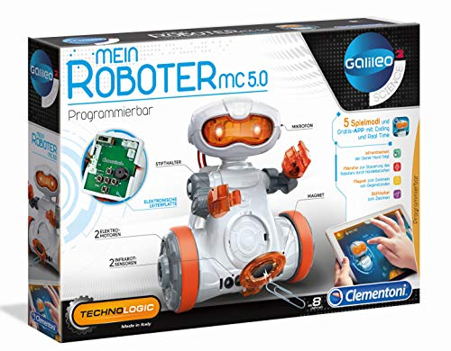 Clementoni 59158 Galileo Science – Mein Roboter MC 5.0, Robotik...
