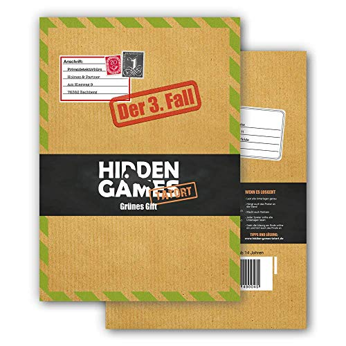 Hidden Games Tatort Krimispiel Fall 3 Grünes Gift, Escape Room Spiel