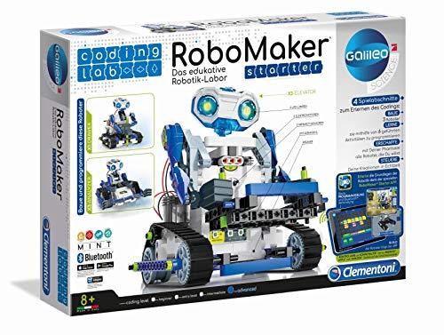 Clementoni 52397 59122 Galileo Science – Coding Lab RoboMaker Starter, edukatives...