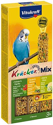 Vitakraft - 21237 - Kräcker Trio-Mix(Sesam-Banana/...