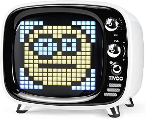Divoom Tivoo Classic Retro Bluetooth-Lautsprecher mit 6 W Audio,...