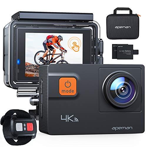 APEMAN Action Cam A87,UHD 4K 60fps Touchscreen WiFi...